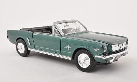 Ford Mustang Convertible, met.-grün, 1964, Modellauto, Fertigmodell, Motormax
