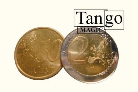 er Coin (2e and 50c w/DVD)(E0054)Tango-Trick ()