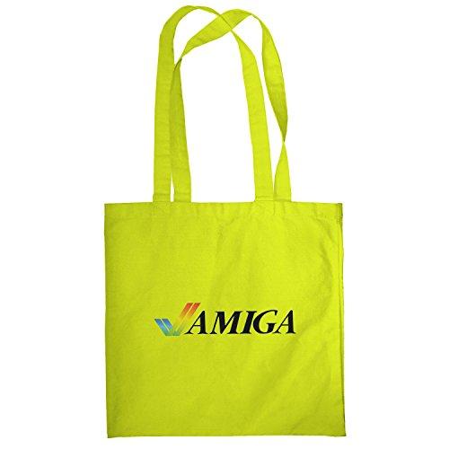 Texlab–Classic Amiga–sacchetto di stoffa Gelb