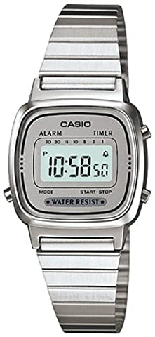 Casio - Damen -Armbanduhr LA670WA-7D