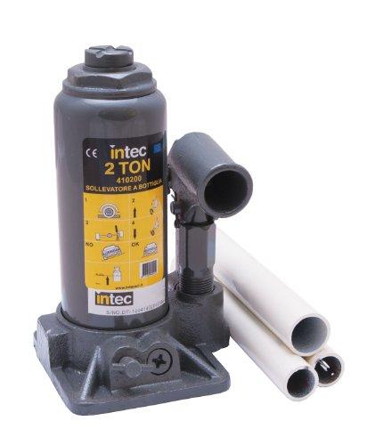Intec 410200 Sollevatore Idraulico a Bottiglia da 2 ton