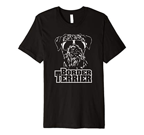 Border Terrier cool Hund Hunde T-Shirt Shirt fun Geschenk