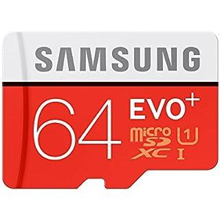 Samsung EVO Plus Class 10 64  GB MicroSD 80 MB/S Memory Card with SD Adapter  MB MC64D