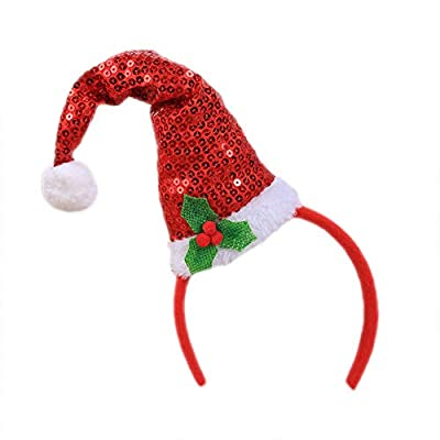 Leisial. Christmas Hair Band Kids Adults Xmas Party Headwear Hair Band Kids Girls Hair Band Christmas Fancy Dress Costumes Party Decoration