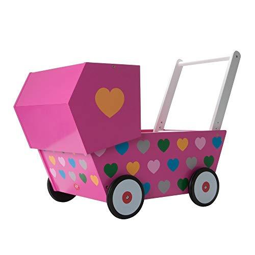 Unbekannt J.I.P JIP0740 - Kinderwagen Baby Car, pink