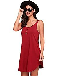 Amazon.it  CANOTTA - Vestiti   Donna  Abbigliamento 451be63209e