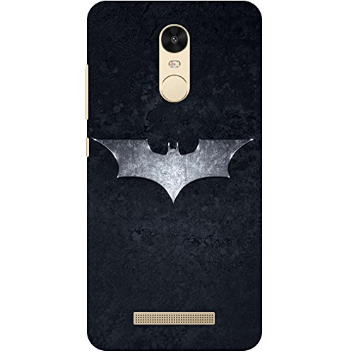 Patterncreations Batman Paint 5 Printed Designer Slim Light Weight Back Cover for Mi Redmi Note 3