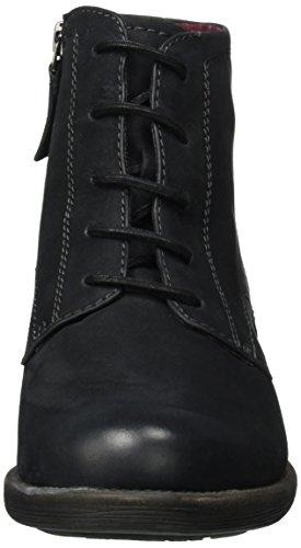 Tamaris 25235, Bottines Pour Femme Noires (noir Nubuc 008)