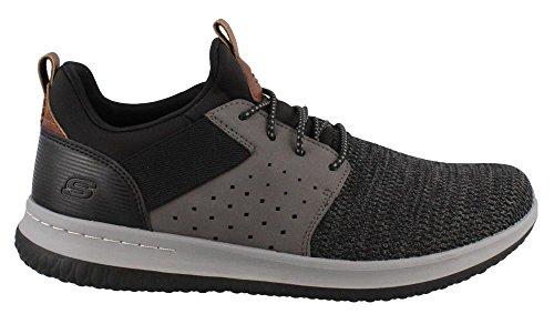 65474 Sneaker Bkgy Nero Nero Uomo Skechers q4gdPq