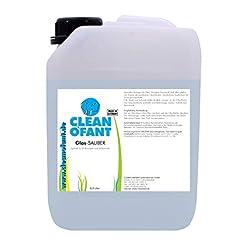 cleanofant di vetro pulito–2,5litri–Forza piena di vetro pulitore per roulotte, camper, veicolo di comando e bilancio