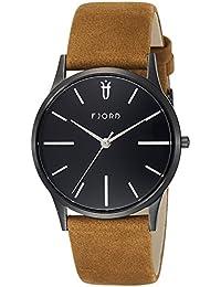Fjord Analog Black Dial Men's Watch- FJ-3028-03