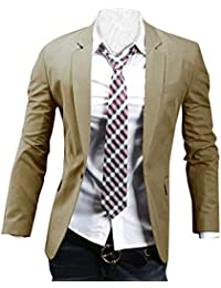 Adelina Blazer Men Blazer Slim Fit Suit Giacca Business Giacca Abbigliamento  Leisure Elegante Stylish Business Lapel c99c4131508