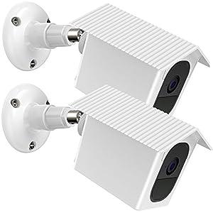 EEEKit Fixation Murale 2 Packs pour Arlo Pro 2 / Arlo Pro, Fixation Murale Plafond 360 Fixation étanche extérieure/intérieure Valise de Protection pour caméra de sécurité Arlo Pro 2 / Pro