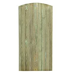 Forest Garden Forest Heavy Duty Tongue and Groove Gate, Pressure Treated, 6ft