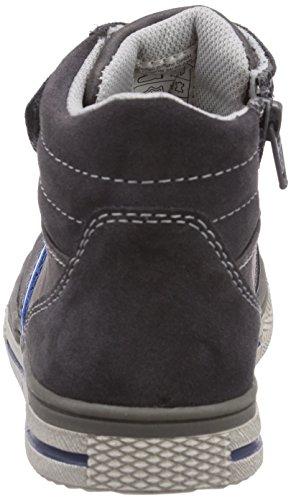 Indigo 451 018 Jungen Hohe Sneakers Grau (dk.grey vl 257)