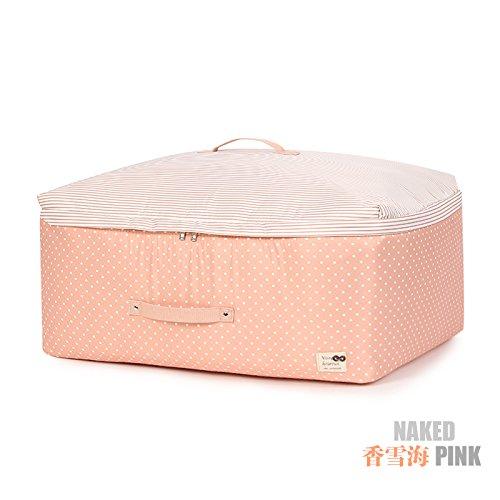 BATTAR-Einfache Polyester-Verpackungs-Beutel-Reise-Verpackungs-Organisatoren Faltbare freie Gepäck-Organisatoren bilden Beutel-Kasten,Kleiderbox, A