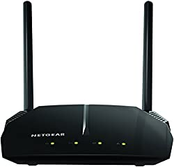 Netgear R6120 WLAN Router AC1200 (Dual-Band, bis zu 1200 MBit/s, Abdeckung bis 90m² & 20 Geräte, 4x 10/100 Fast Ethernet- & 1x USB 2.0 Ports)