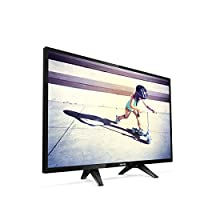 Philips 32PFS4132/62 Televizyon, 80 cm (32 inç) LED TV (Full HD, HDMI, USB, Dahili Uydu Alıcılı), Siyah