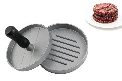 Pressa per Hamburger, leadway® hamburger in alluminio, antiaderente, Patty Mold, ideale per barbecue e hamburger