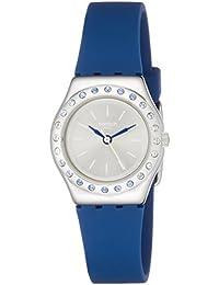 Swatch Reloj Analogico para Mujer de Cuarzo con Correa en Silicona YSS311