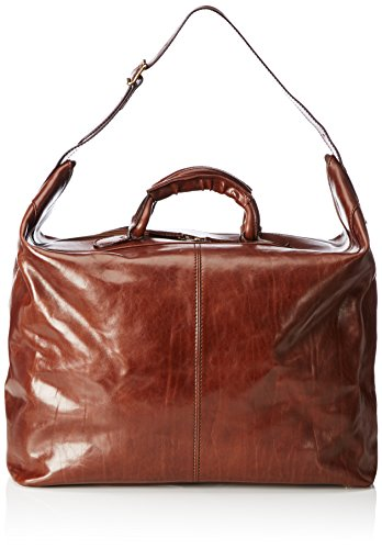 The Bridge Story Viaggio, Sac de Voyage Homme Marron Braun (Brown 14) 50x38x27 cm (B x H x T)