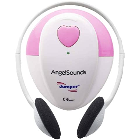 Monitor doppler corazón fetal Angelsounds + 20 ml gel de ultrasonidos
