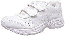 Bata Boys Speed White Running Shoes - 4 kids UK/India (22 EU) (4391149)