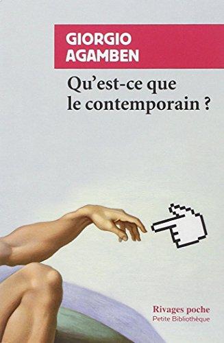 Qu'est-ce que le contemporain ? par Giorgio Agamben