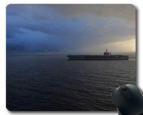 Yanteng Mauspads, Flugzeugträger Marine USS Abraham Lincoln Kriegsschiff Gaming mousepads Multi YT38 - Lincoln-puppe