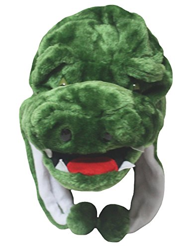 Petitebelle grün Krokodil Hat Maske Unisex UP Party Kleid KOSTÜM FÜR Kinder Gr. One Size, ()