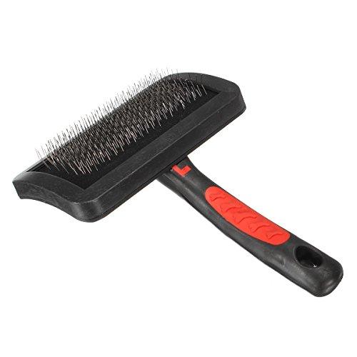 GOZAR Grooming Selbstreinigung Slicker Bürsten Kamm Haar Fell Vergießen (Slicker Grooming Bürste)