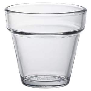 Duralex Arome bicchiere da acqua trasparente 190ml, senza contrassegno di riempimento, 6 bicchieri