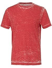 Unisexe poly-coton t-shirt manche courte (BE119) - Rouge Délavé, 34-37 / Small