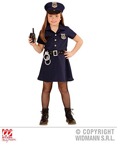 KINDERKOSTÜM - POLIZISTIN - Größe 158 cm, Polizei Uniform Berufe Police Girl Mädchen