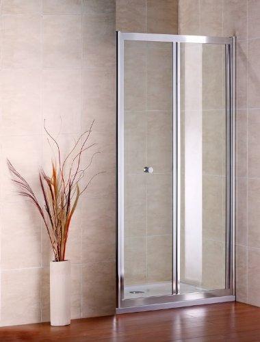 Zweiteilige Duschtür