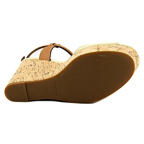 Sandales plateforme Coach Linden Wedge Natural