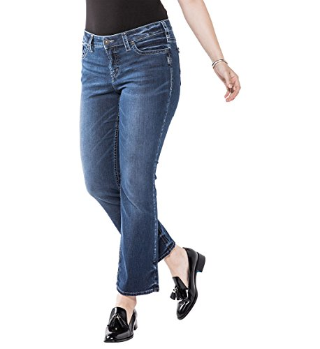 Silver Jeans Co. Women's Plus Size Aiko Slim Boot Jeans