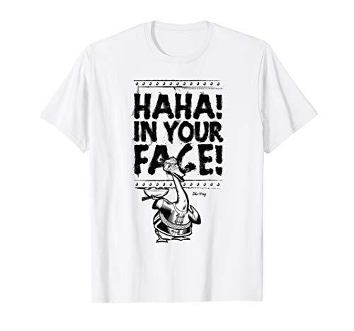 Kung Fu Panda Mr. Ping Haha In Your Face Sketch T-Shirt -