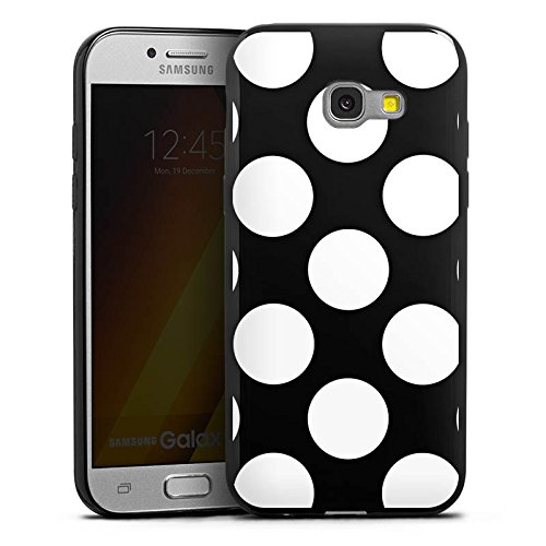 Silikon Hülle Ultra Dünn Schutzhülle kompatibel mit Samsung Galaxy A5 (2017) Muster ohne Hintergrund Punkte Polka Dots ()