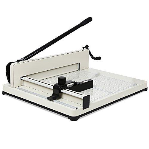 FEMOR Cortador de Papel A3 Guillotina Profesional con Capacidad de Corte hasta 400 Hojas Paper Cutter