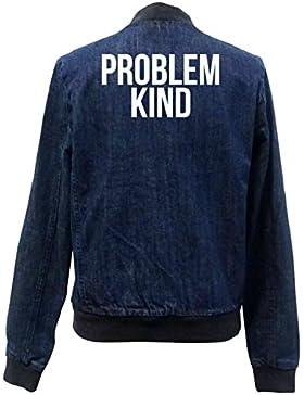 Problem Kind Bomber Chaqueta Girls Jeans Certified Freak