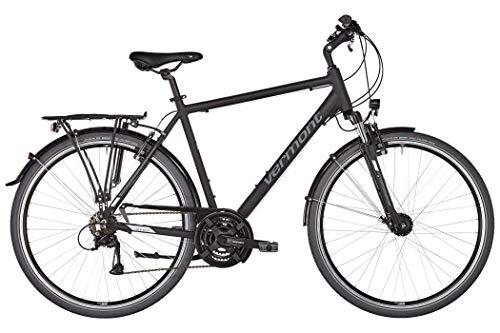 Vermont Brentwood Herren schwarz matt Rahmenhöhe 56cm 2019 Trekkingrad