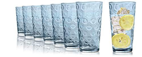 Tivoli Maryland Wassergläser - 490 - Set aus 8 - Hochwertige Gläser ? Spülmaschinenfest ? Kristallgläser