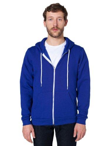 american-apparel-unisexe-flex-en-polaire-a-capuche-f497-small
