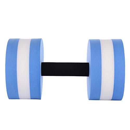 Ming Haltère à Eau Exercice Piscine Aquatique Dumbells en EVA pour Sport Aptitude dans l'eau Aérobic Yoga Entraînement Équipement de Conditionnement Physique pour Homme et Femme