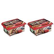 2x Caja para juguetes juguete caja Fashion Caja de Disney Cars 10L