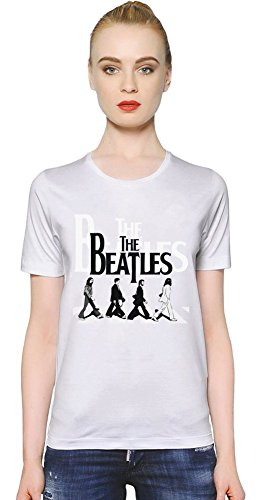 Beatles Abbey Road Womens T-shirt Medium