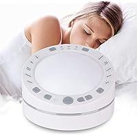 Weißes Rauschen Maschine, Berühren Induktion White Noise Maschine Schlafhilfe mit 10 Natürliche Beruhigender Geräuschen... preisvergleich bei billige-tabletten.eu