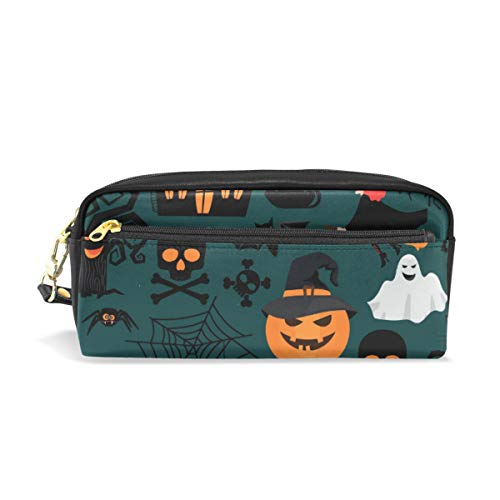 Federmäppchen, große Kapazität, für Halloween, Handwerk und Make-up-Tasche für Studenten oder Frauen