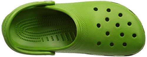 Crocs Cayman , Damen Clogs/Pantoletten grün (Parrot Green)